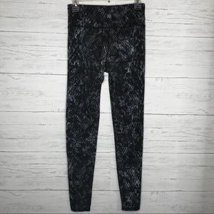 Black GrayHigh Rise Cobra Chaturanga Leggings